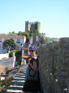 Strolls along the castle wall