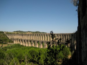 Vestiges of a Roman past (not dating from but influenced by). An exquisite aqueduct system winds through much of Portugal's geography