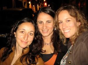 Rute, Patricia, and I in Bairro Alto