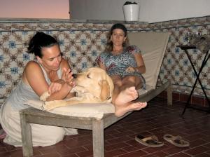 Puppy love- Tanya and Rafa
