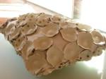 Ceramic pillow (Museum of Ceramics, Lisbon)